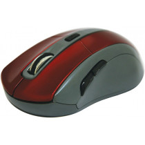 Мышь беспроводная Accura MM-965 красный, оптическая, 6 кнопок, 800-1600 dpi Defender