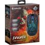 Мышь проводная игровая Defender Invoker GM-947 оптика,6 кнопок,1200-3200 dpi