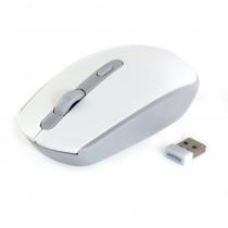 Мышь беспроводная Smartbuy ONE SBM-280AG-WG, бело-серая