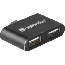 USB-хаб 2-порта Quadro Dual USB 3.1 TYPE C - USB 2.0, Defender