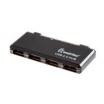 USB-хаб 4 порта SBHA-6110-K SmartBuy чёрный
