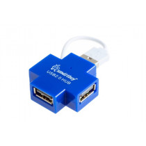 USB-хаб 4 порта SBHA-6900-B SmartBuy голубой