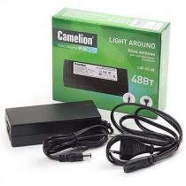 Блок питания Camelion LDP-02-48 для LED устройств и лент, 12В, 4А, 48Вт, IP20