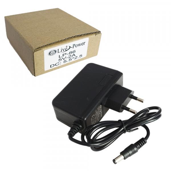 """Блок питания """"Live-Power"""" LP- 86 (5V,2A) штекер 5,5*2,5"""