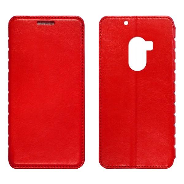 Lenovo A7010 Чехол-книжка красный