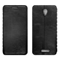 XIAOMI Redmi Note2 Чехол-книжка чёрный