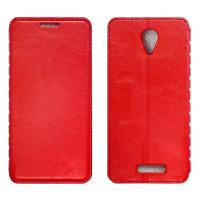XIAOMI Redmi Note2 Чехол-книжка красный