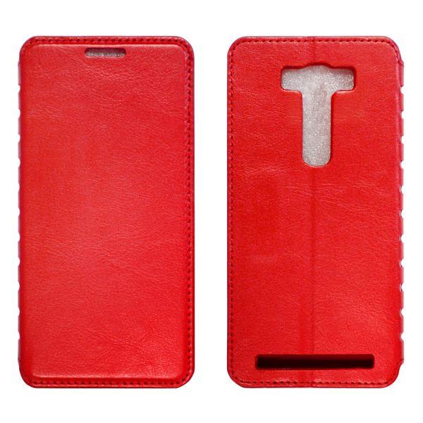 LG V10 Чехол-книжка красный
