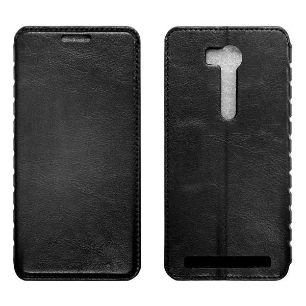 Asus Zenfone GO 5.5 Чехол-книжка чёрный