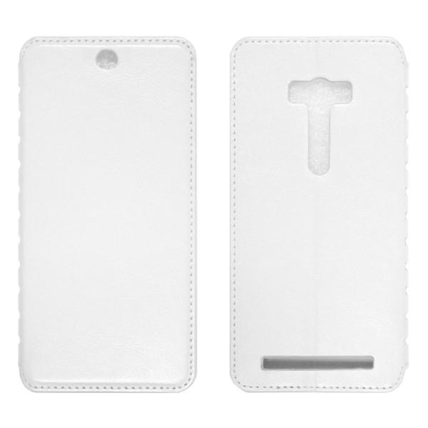 Asus Zenfone 2 ZD551KL Чехол-книжка белый