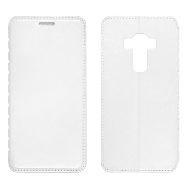 Asus Zenfone (ZE520KL) Чехол-книжка белый