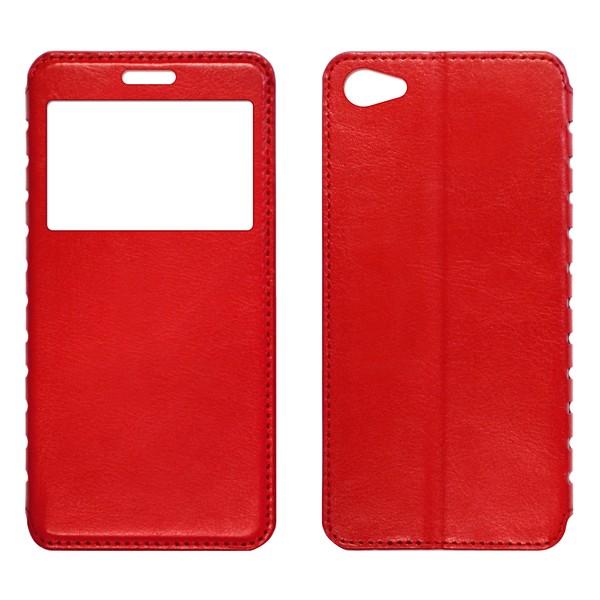 Meizu U20 Чехол-книжка с окном красный