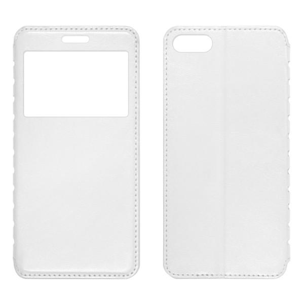 Iphone 7 Чехол-книжка с окном белый
