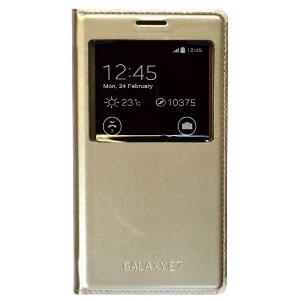Samsung E7 золото (горизонт)