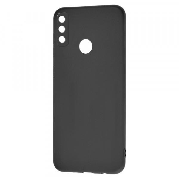 Honor Play 9A Бампер силиконовый матовый чёрный (вид 2)