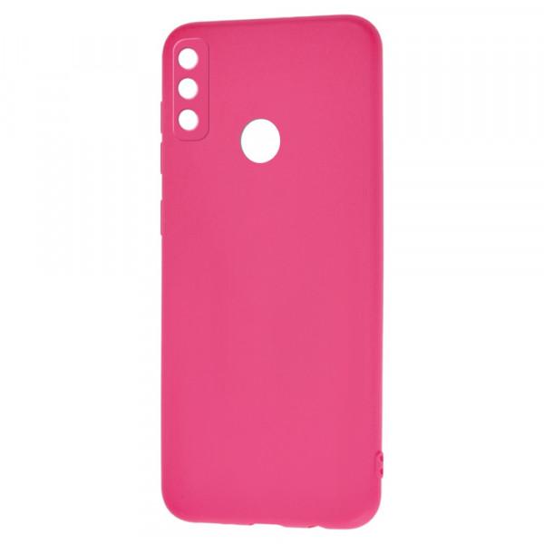 Honor Play 9A Бампер силиконовый матовый розовый (вид 2)
