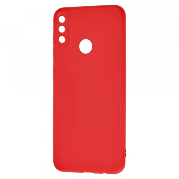 Honor Play 9A Бампер силиконовый матовый красный (вид 2)