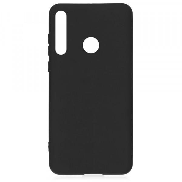 Huawei P40 Lite E Бампер силиконовый матовый чёрный