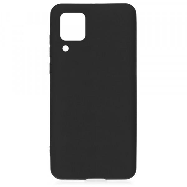 Huawei P40 Lite Бампер силиконовый матовый чёрный