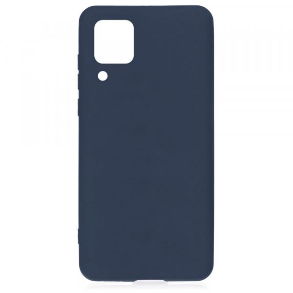Huawei P40 Lite Бампер силиконовый матовый синий