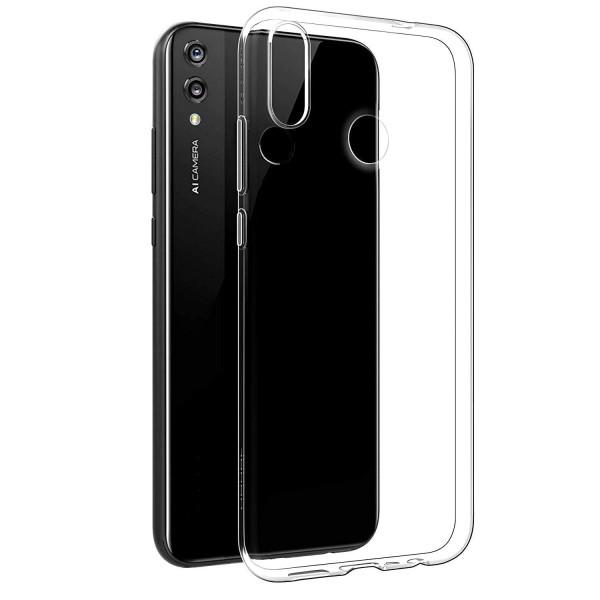 Huawei Y7 (2019) Бампер силиконовый прозрачный NEW
