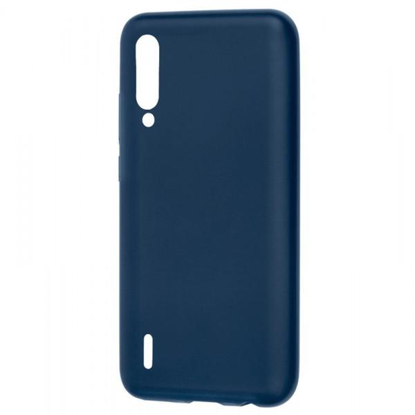 Xiaomi Mi A3 (CC9E) Бампер силиконовый матовый синий
