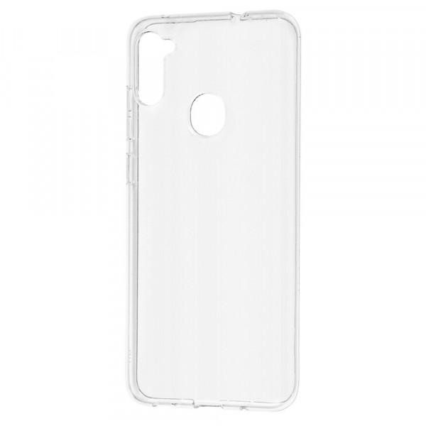 Samsung A11 Бампер силиконовый прозрачный