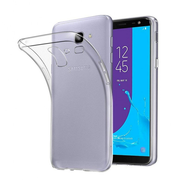 Samsung J6 (2018) Бампер силиконовый прозрачный NEW