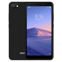 Xiaomi Redmi 6A Бампер силиконовый матовый чёрный