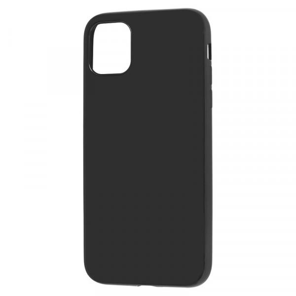 """iPhone 11 Pro (5.8"""") Бампер силиконовый матовый чёрный"""