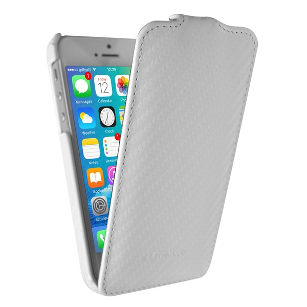 IPhone 5 Чехол, белый кожа, Melkco