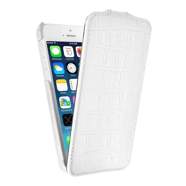 IPhone 5 Чехол, белый кожа, Melkco SOTOMORE