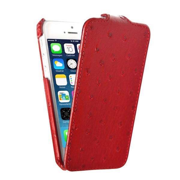 IPhone 5 Чехол, красный кожа, Melkco SOTOMORE