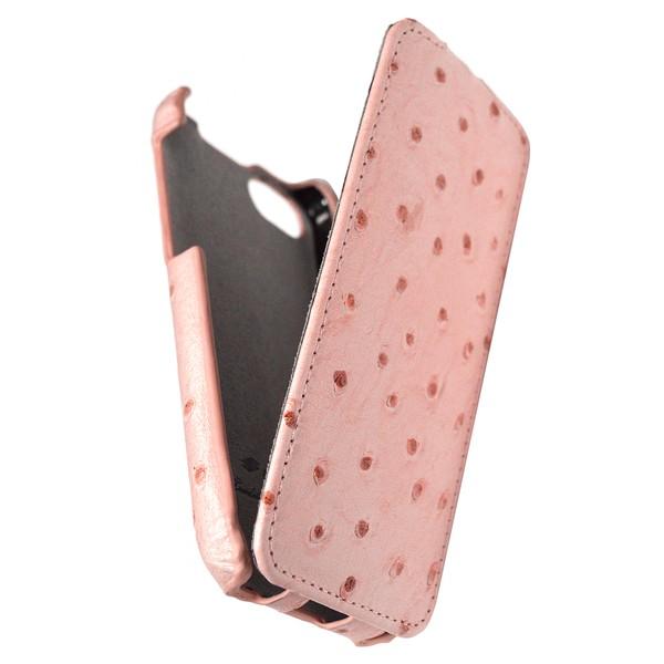 IPhone 5 Чехол, розовый кожа, Melkco