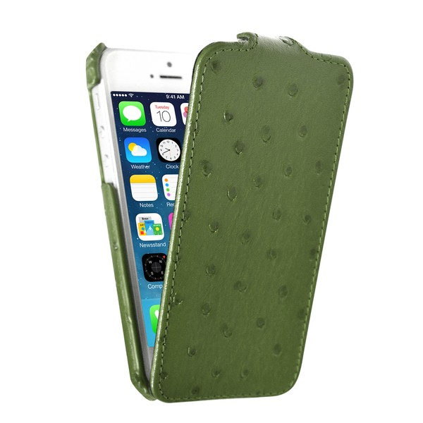 IPhone 5 Чехол, зеленый кожа, Melkco SOTOMORE