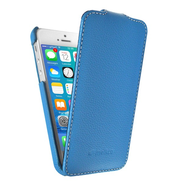 IPhone 5 Чехол, синий кожа, Melkco