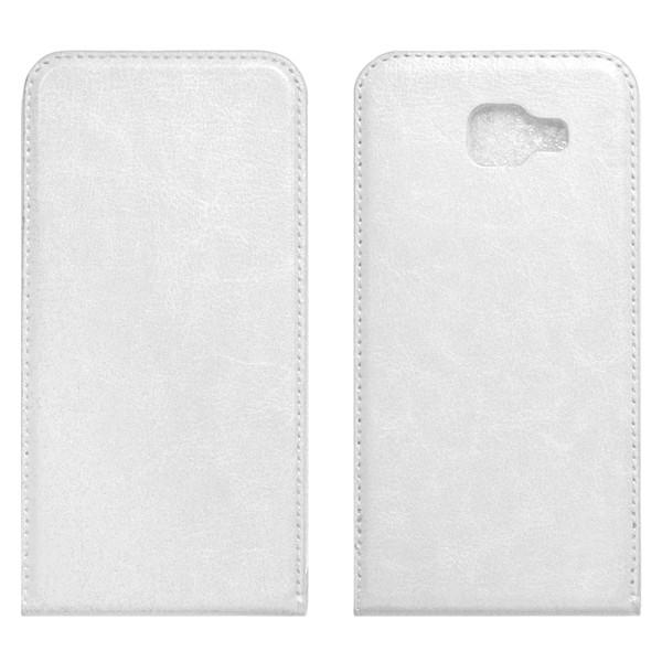 Samsung A7 (A710) Флип-кейс белый