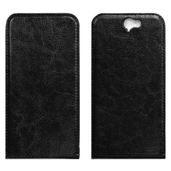 HTC one A9 флип-кейс чёрный