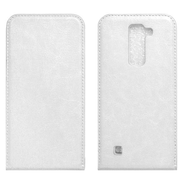 LG Magna Флип-кейс белый
