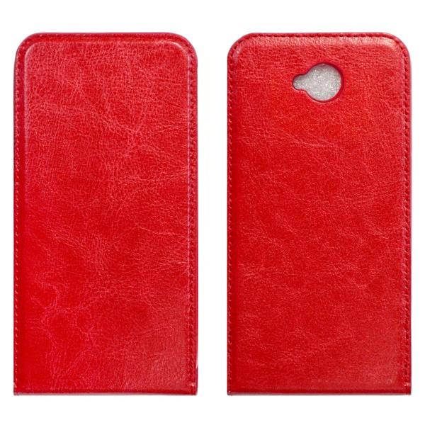 Microsoft Lumia 650 Флип-кейс красный