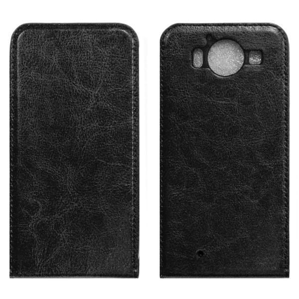 Microsoft Lumia 950 Флип-кейс чёрный