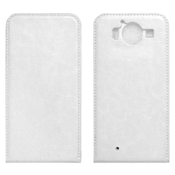 Microsoft Lumia 950 Флип-кейс белый