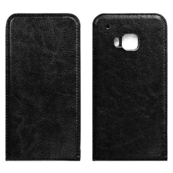 HTC one M9 флип-кейс чёрный