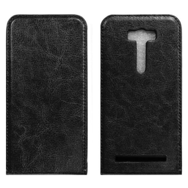 Asus ZenFone 3 Max ZC520TL Чехол-книжка с окном чёрный