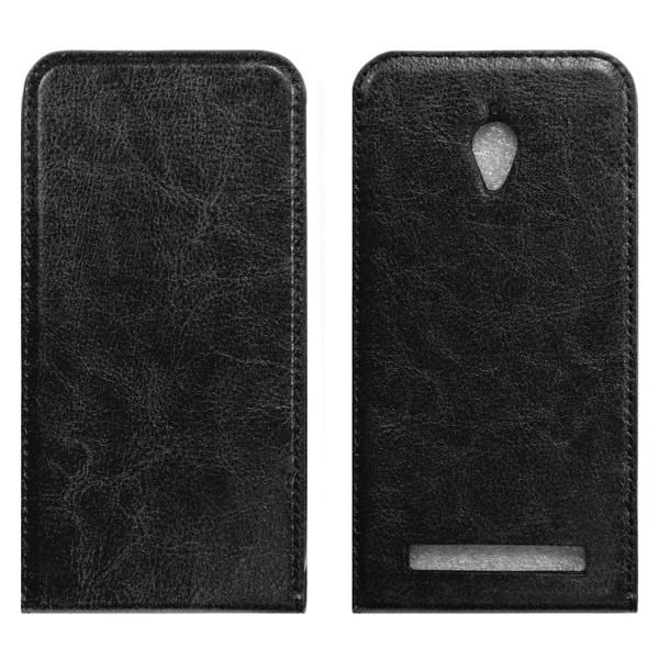 Asus Zenfone GO Флип-кейс чёрный