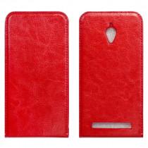 Asus Zenfone GO Флип-кейс красный