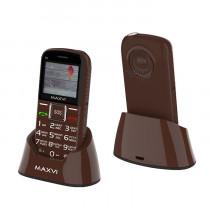Мобильный телефон Maxvi B5 brown