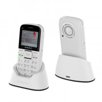 Мобильный телефон Maxvi B5 white