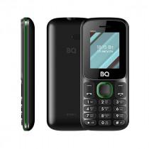 Мобильный телефон BQ BQ-1848 Step+ Черный+Зелёный