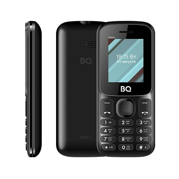 Мобильный телефон BQ BQ-1848 Step+ Черный (без СЗУ в комплекте)